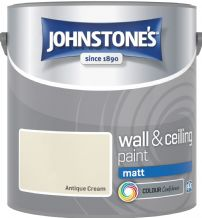 Johnstones Antique Cream Coloured Emulsion